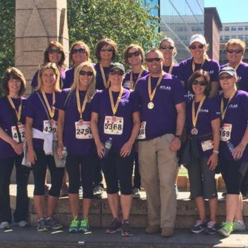 The Atlas Travel Flyers Soared Through the Jimmy Fund Walk Finish Line
