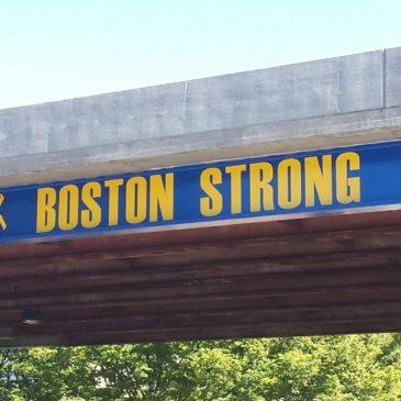 The Atlas Travel Flyers on the Boston Marathon Route to End Cancer