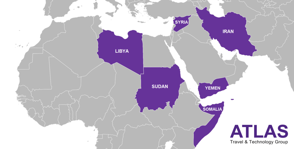 Partial Travel Ban Implementation: What It Means_map