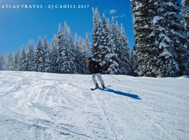 Skiing Vail