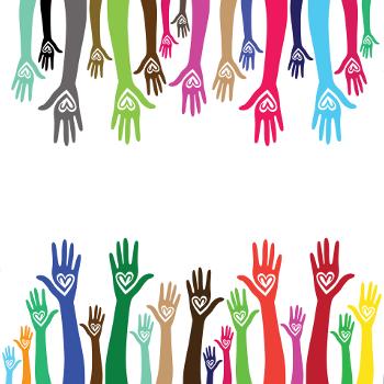 Clip Art Hands Circle Community. Concept for a friendship, teamwork, social  business | Clip art, Hand logo, Teamwork